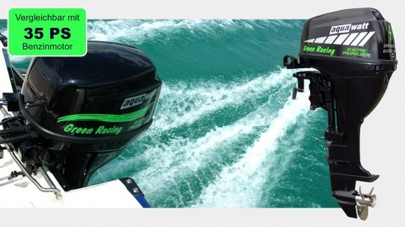 Sportboot Motor Green Racing- 22kW